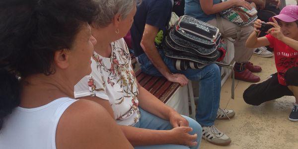 Fogyatékkal élők táboroztak a Balaton partján