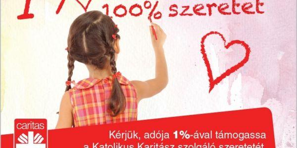 1 % segítség, 100 % szeretet