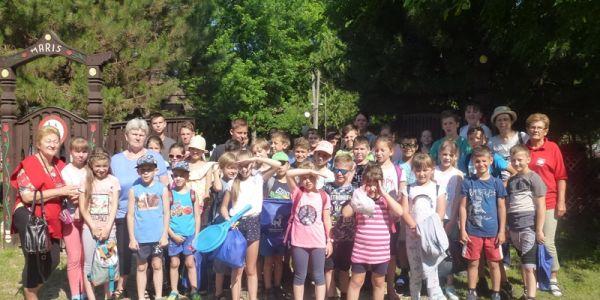 A MÁRIS tanyán vendégeskedtek a kelebiai gyerekek