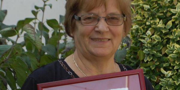 Caritas Hungarica díjat vehetett át Törteli Rózsa