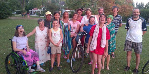 Fogyatékkal élők táboroztak Balatonszemesen